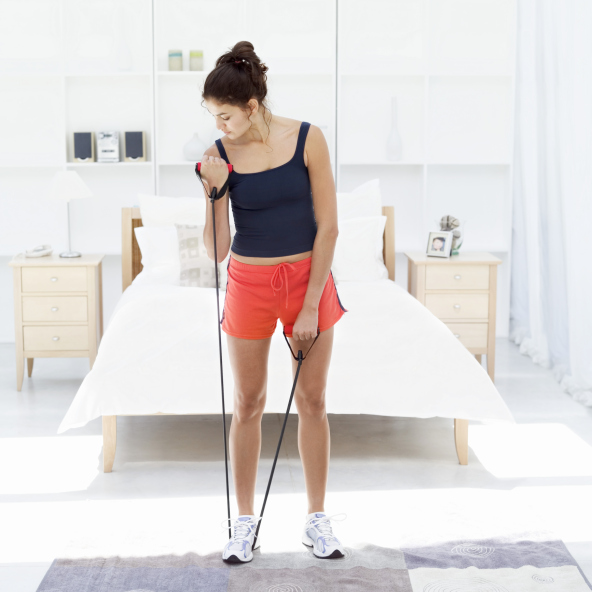 Exercise Bands Any Good: The 20 Minute At Home Workout To Add To Your Morning