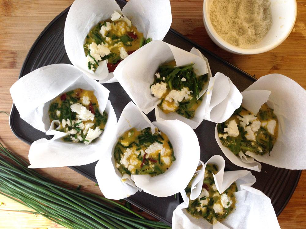 Tara Miller's premade breakfast egg muffins