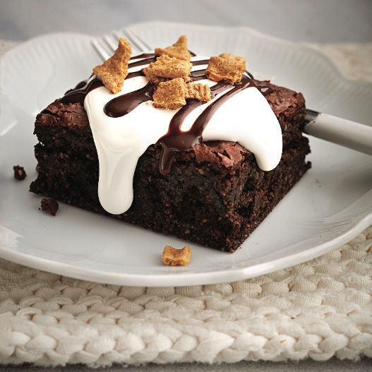s'mores topped brownies