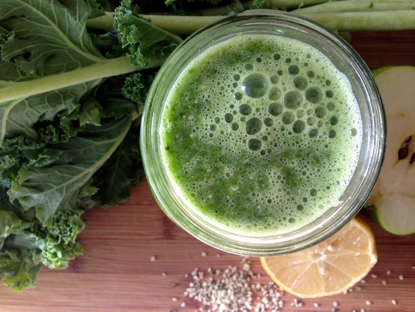 Try this cleansing smoothie to start the new year off right