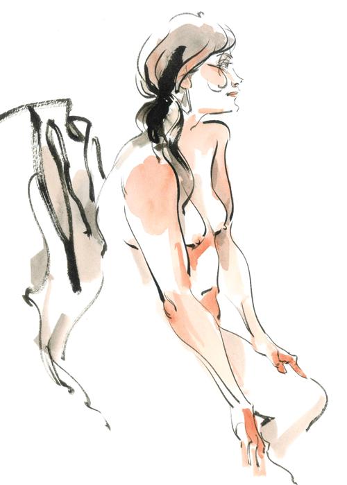 Marci-O'Connor-nude-drawing