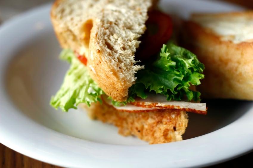 Whole Wheat Bread sandwich