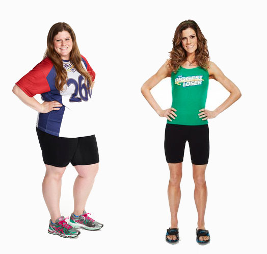 Rachel Frederickson Biggest Loser before and after