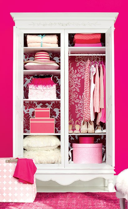 Clutter Cure March 2012 Cover Pink Closet And