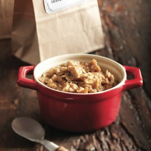 Homemade apple cinnamon instant oatmeal recipe