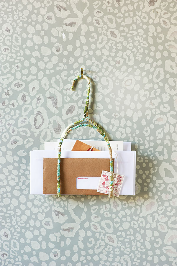 How To Make A Pretty Diy Letter Holder Chatelaine