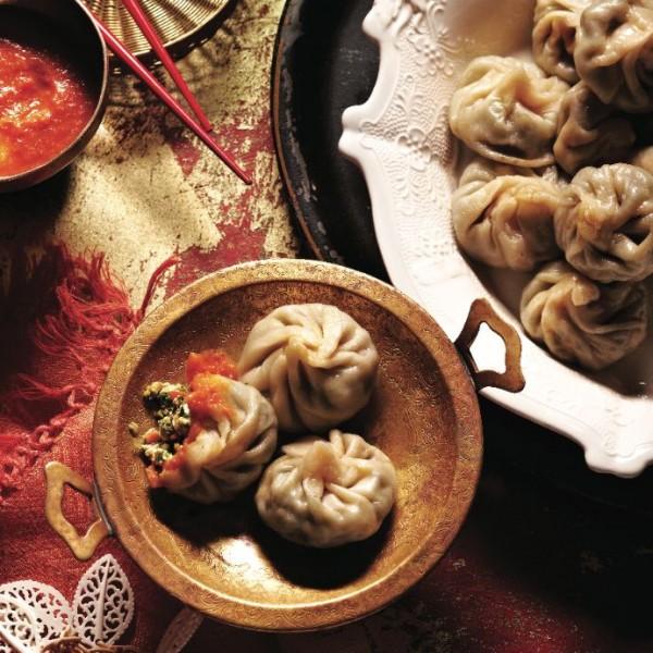Tibetan momo dumplings