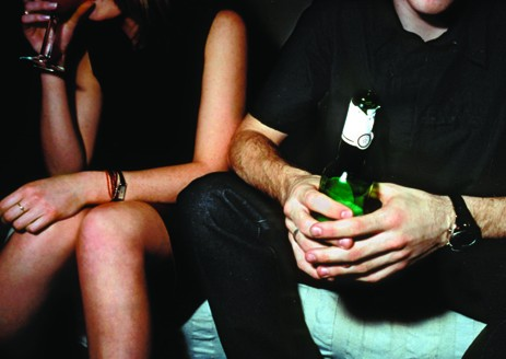 friends two people guy girl man woman drinking alcohol bar couple