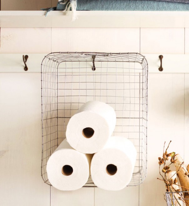 wire-basket-shelf-storage-paper-towel-clutter-cure-organizing