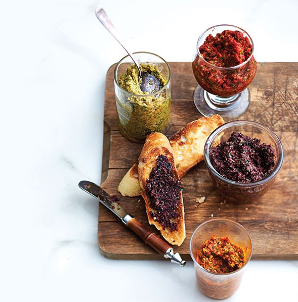 Homemade-black-olive-tapenade