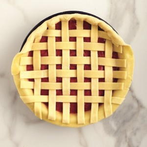 How to weave a lattice pie crust