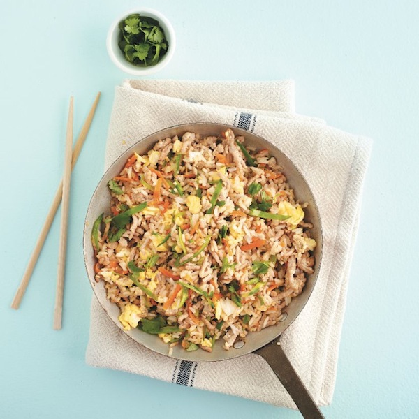 Lime-fried rice