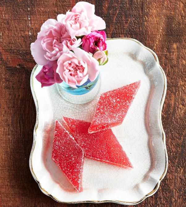 Rhubarb jellies