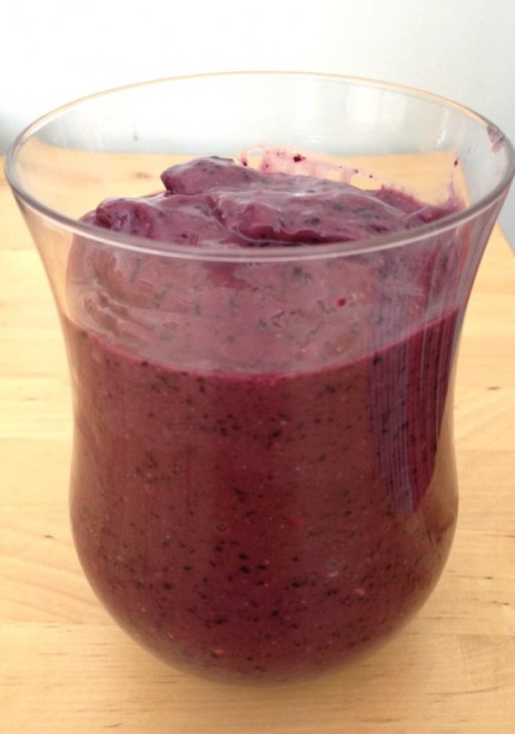 My favourite smoothie from the cleanse.