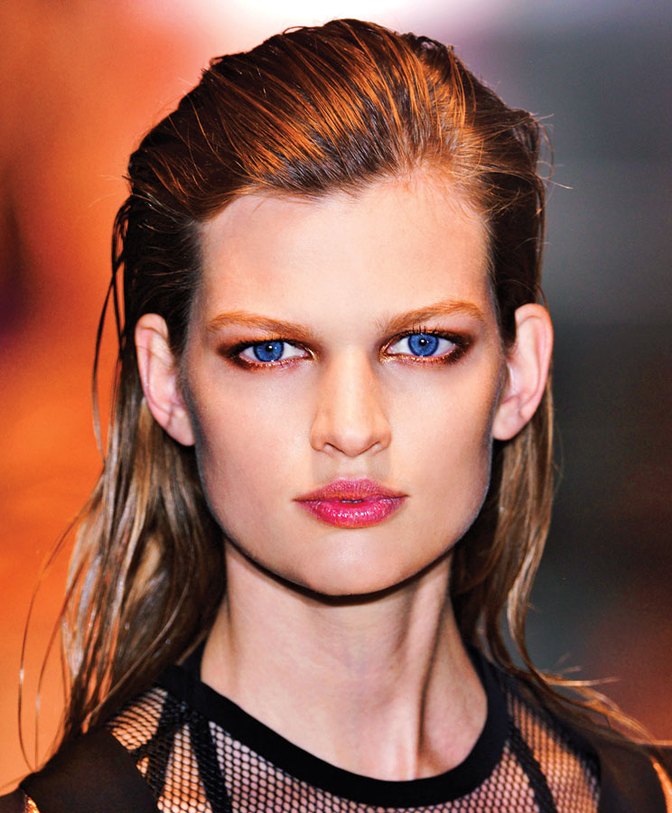 Hair Trends Sleek Gucci runway