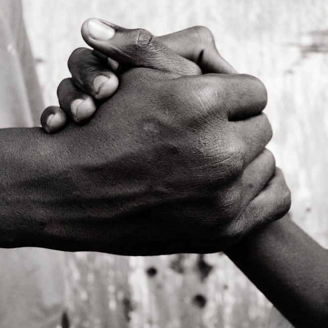 handshake african greeting rwanda