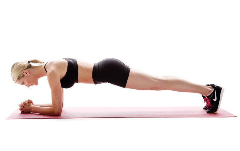 Here's How To Plank Properly And Engage Your Core Correctly