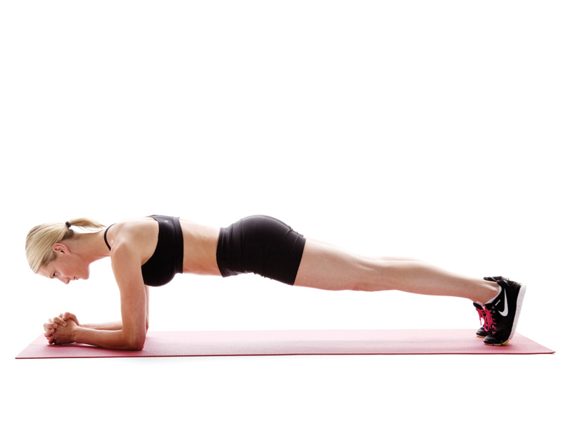 How To Do Kick Down Crunches