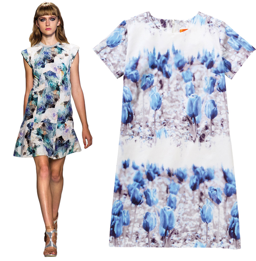 Rebecca Taylor and Joe Fresh dresses