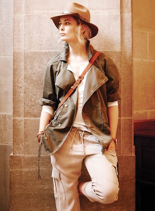 Cargo Pants Safari Style