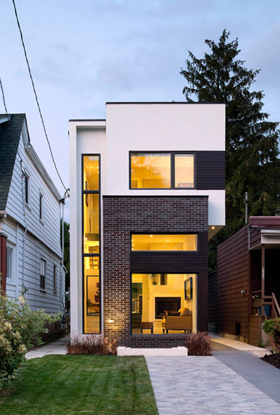Modern House Exterior Design Ideas: Six Cool And Contemporary House Exteriors