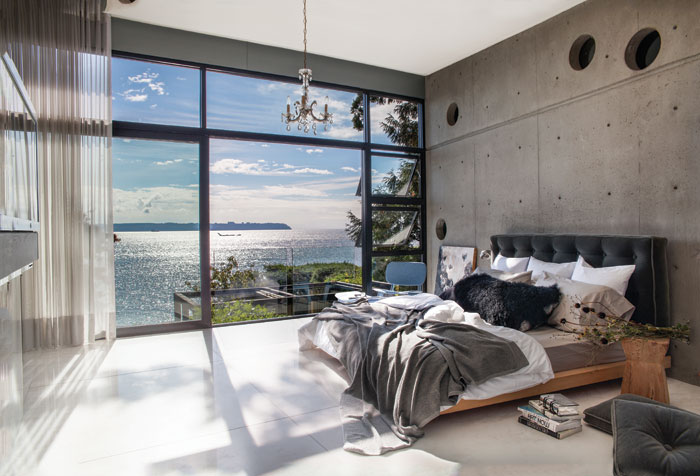 Peek Inside A Luxurious Oceanside House In West Vancouver