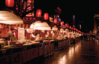 China-food-stalls-night-market