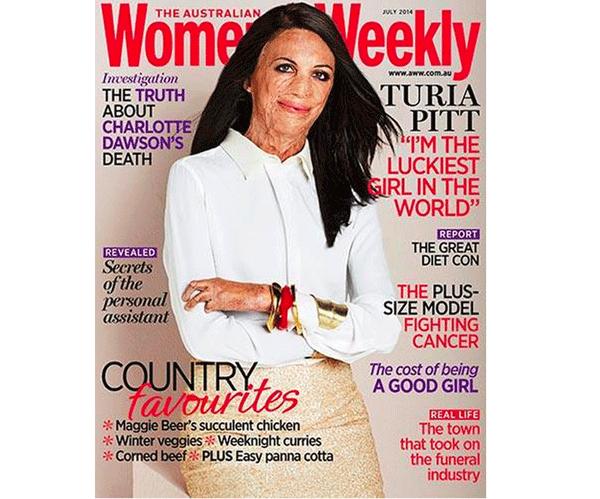 Turia-Pitt-cover-of-Women's-Weekly-Australia