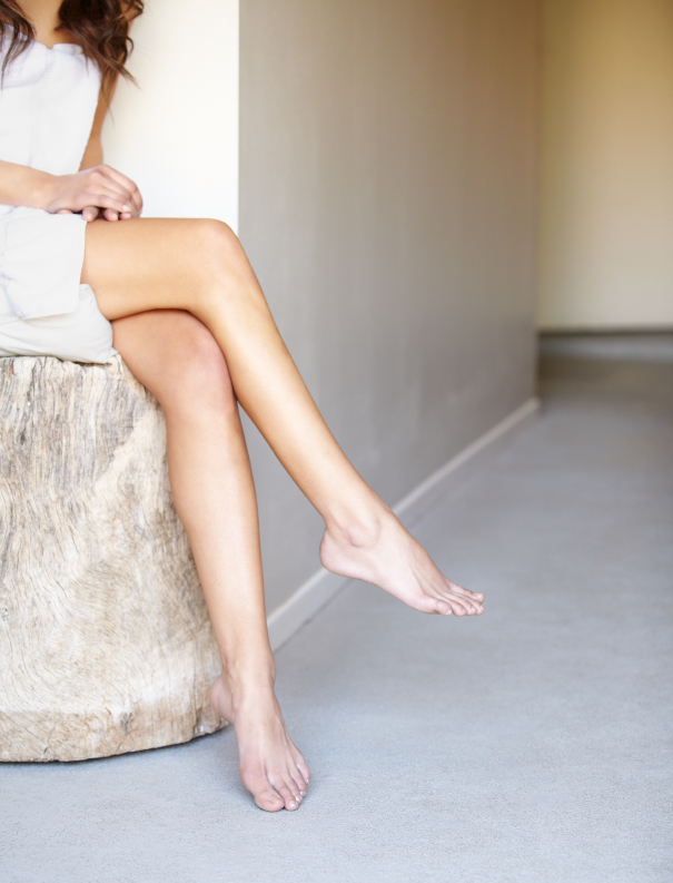 Woman with Legs Crossed