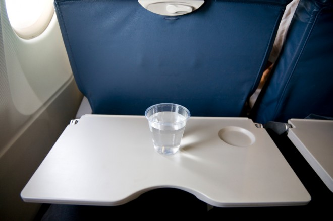 airplane seat tray