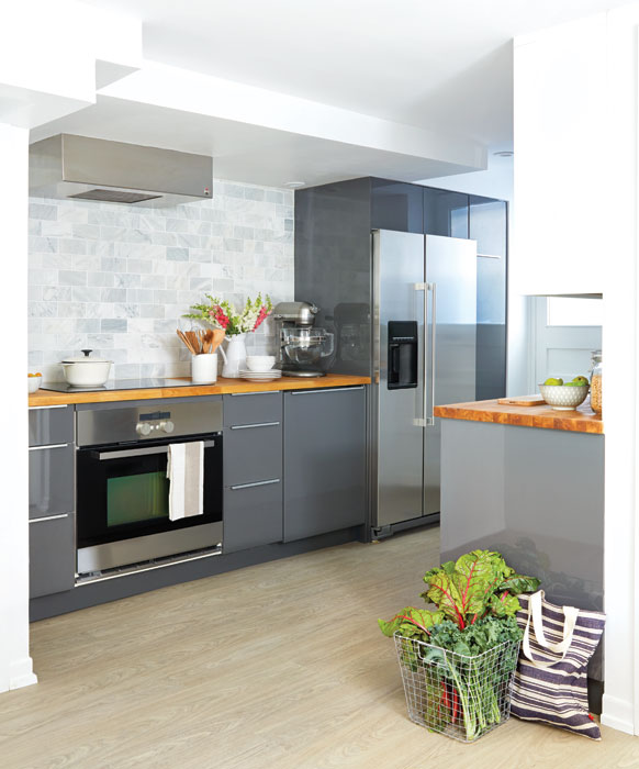 Apartment Kitchen Makeover: Basement Kitchen Design: 9 Tips From Designer Samantha Pynn