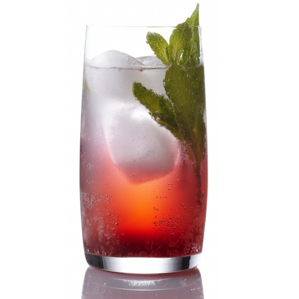 Cherry-mint soda