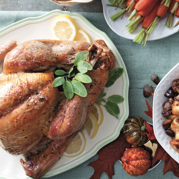 Honey and herb roasted turkey