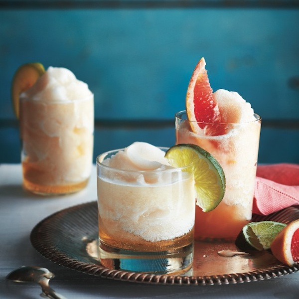Lager and lime slushes.