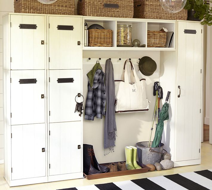 10 great storage ideas from ikea and more chatelaine Hallway lockers for home