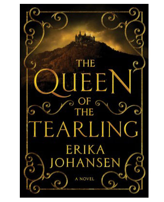 The Queen of the Tearling by Erika Johansen book cover