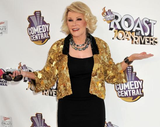 Joan Rivers Roast Comedy Central