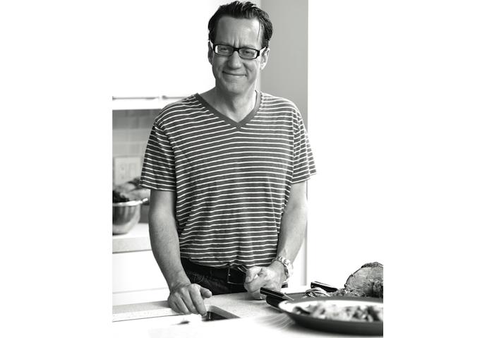 Jacob Richler kitchen portrait photo sian richards