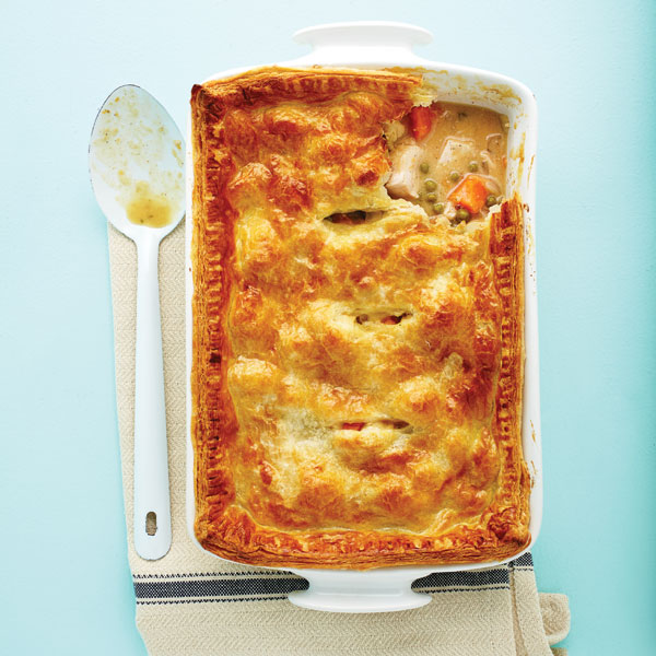 Savoury baking recipes: Apple cider turkey pot pie