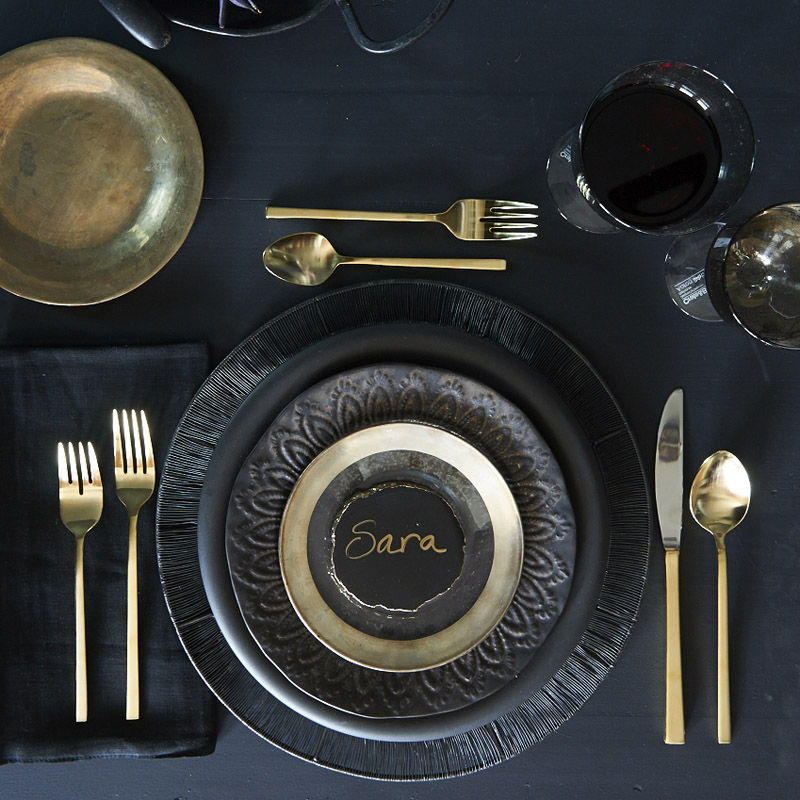 Formal table setting for Interfaith food pantry plover