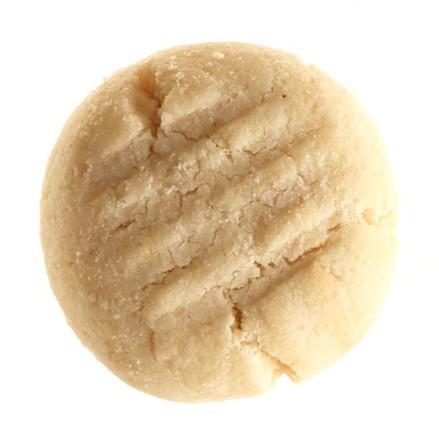 Gluten-free shortbread cookie