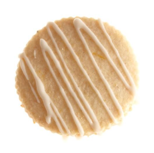 Hot toddy shortbread cookie