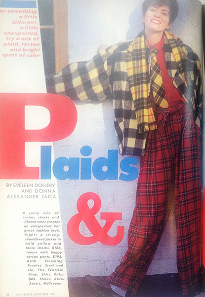 #tbt: Tales from the Chatelaine archives