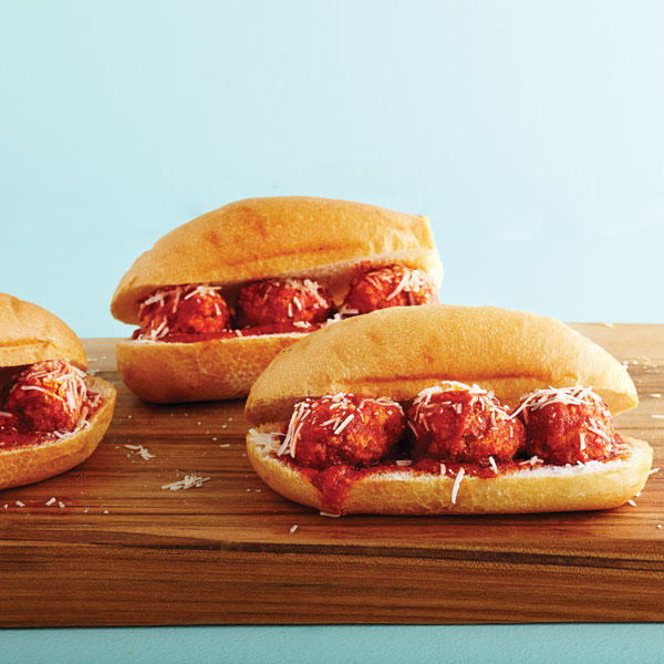 Saucy Meatball Sub Recipe Chatelaine