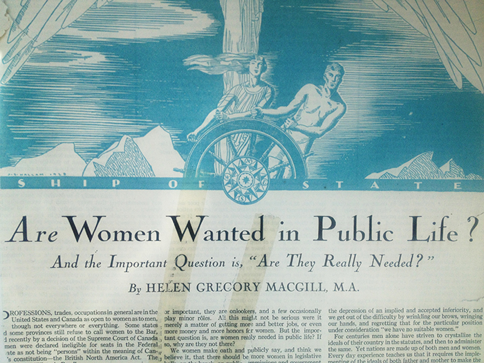 #tbt chatelaine archives women in public life