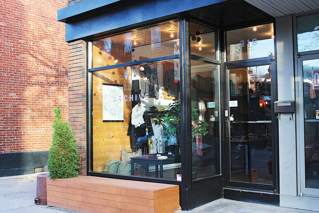 Boutique Archive from Villeray, Montreal in Quebec