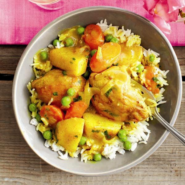 Hong Kong chicken curry