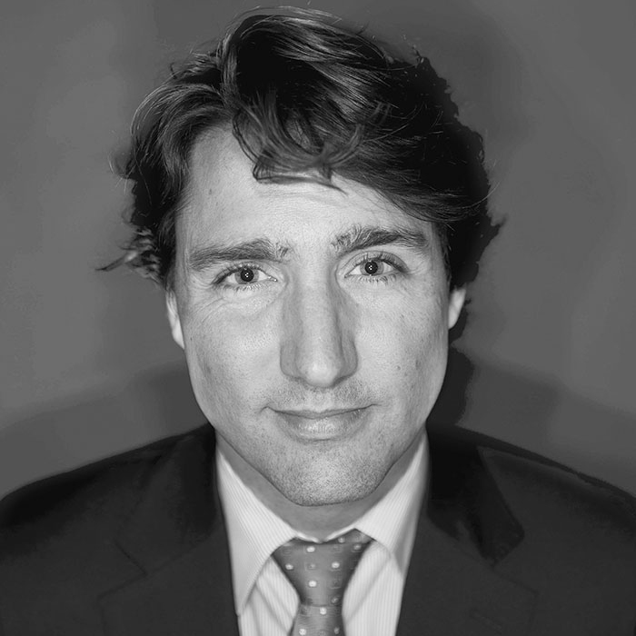 TORONTO, ON - APRIL 5: The editorial board met with Liberal leadership candidate Justin Trudeau on April 5, 2013. Afterwards he posed for a photograph in the Toronto Star studio.