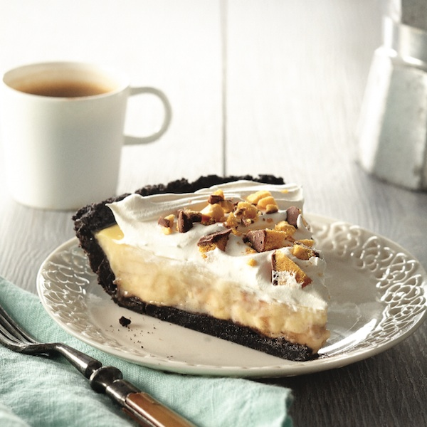 Banana-caramel cream pie