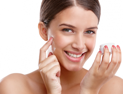 Istock image serums, creams, fresh face model